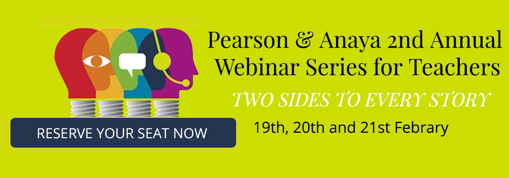 Pearson & Anaya 2nd Annual Webinar Series for Teachers