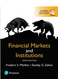 Financial Markets and Institutions, eBook, Global Edition N